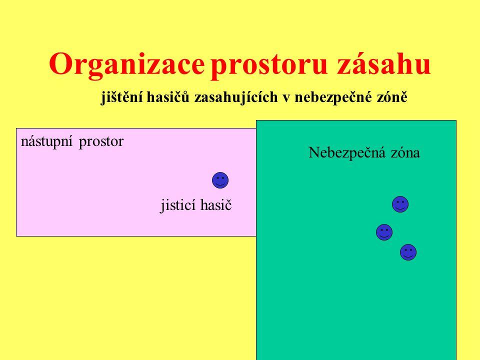 Organizace prostoru zásahu