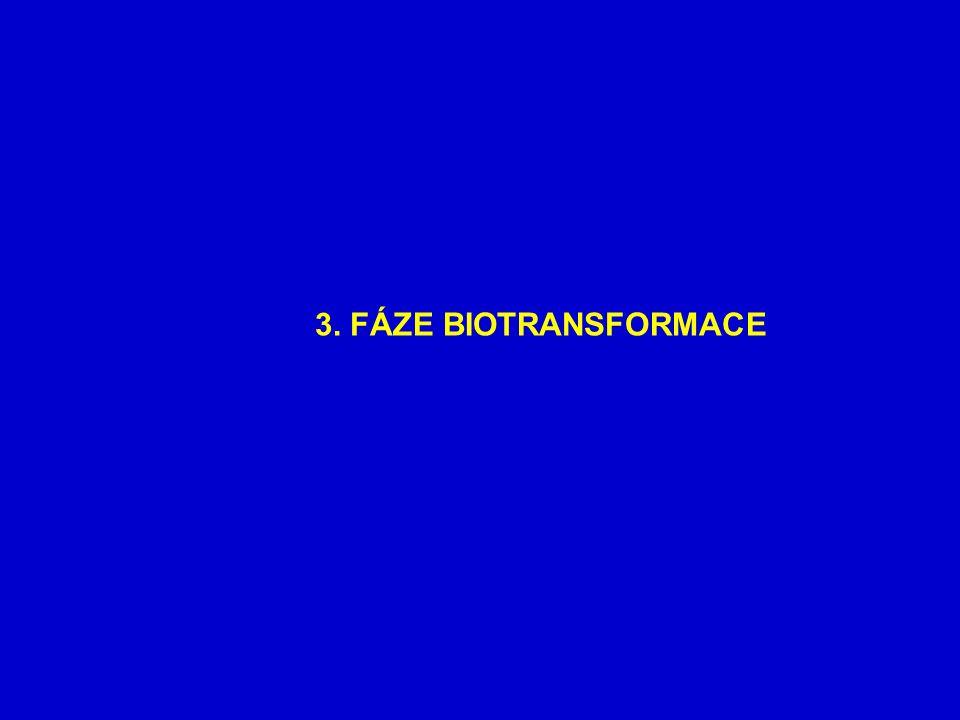 3. FÁZE BIOTRANSFORMACE
