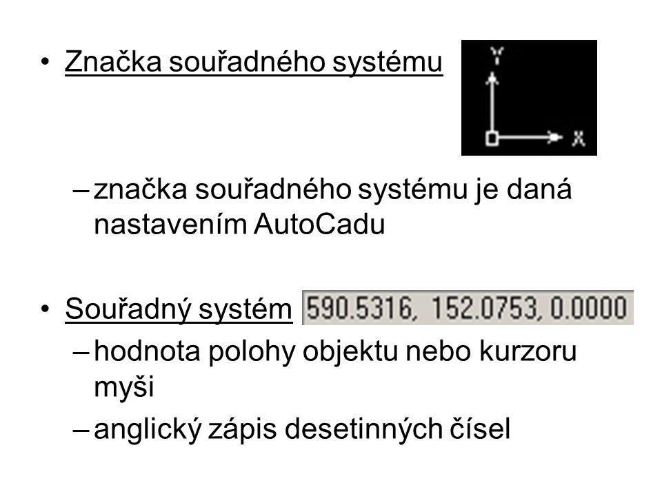Značka souřadného systému
