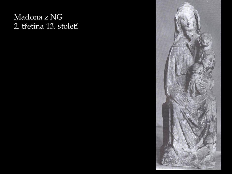 Madona z NG 2. třetina 13. století