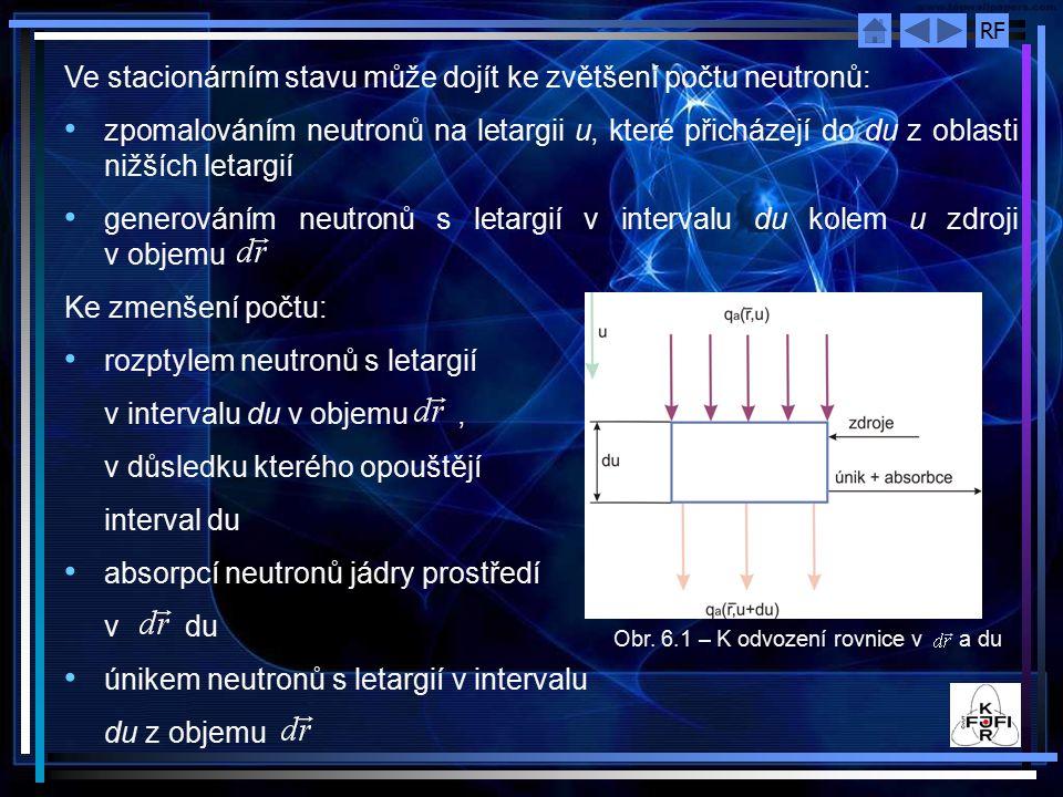 Ve stacionárním stavu může dojít ke zvětšení počtu neutronů: