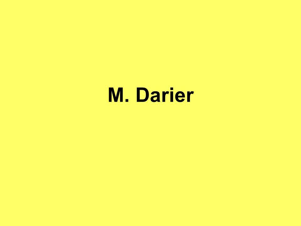 M. Darier