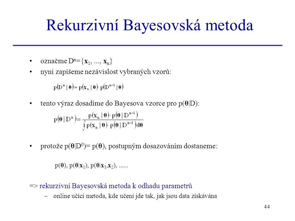 Rekurzivní Bayesovská metoda