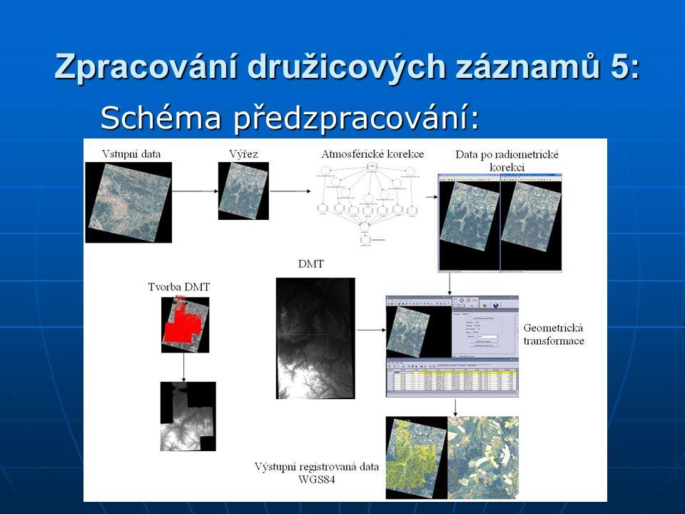 Zpracování družicových záznamů 5: