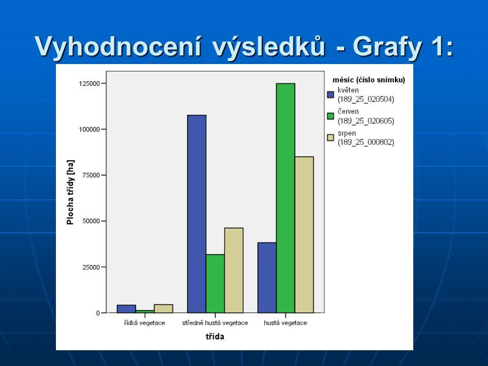 Vyhodnocení výsledků - Grafy 1: