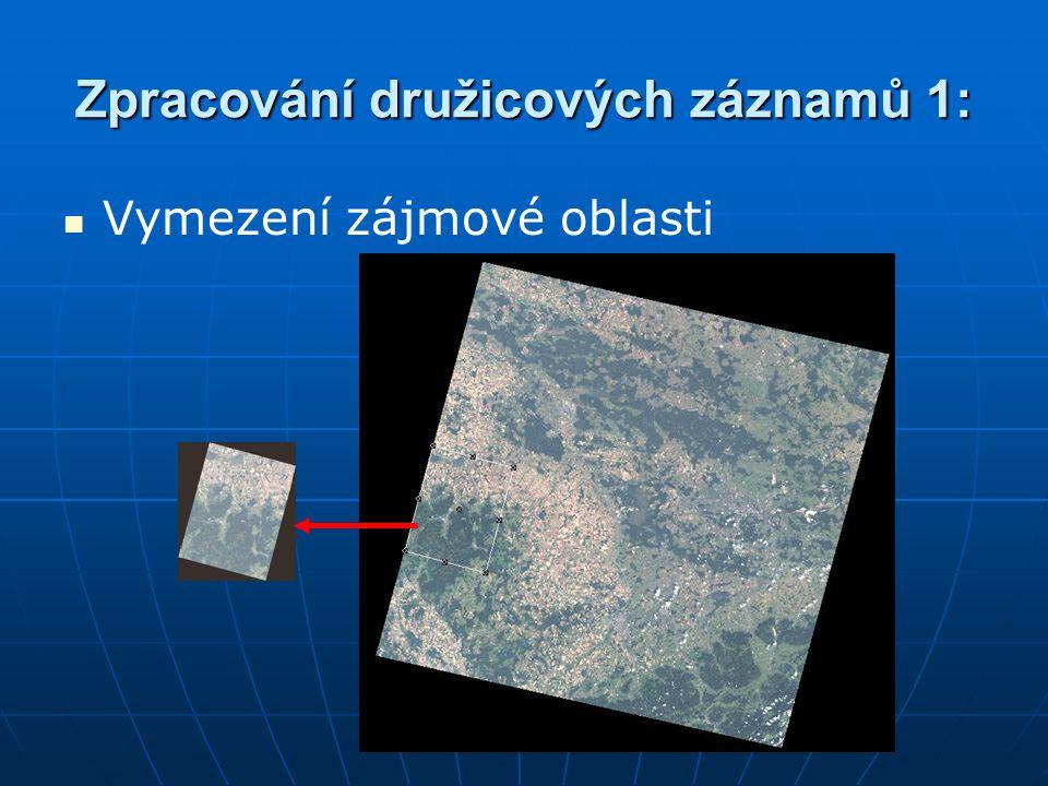 Zpracování družicových záznamů 1: