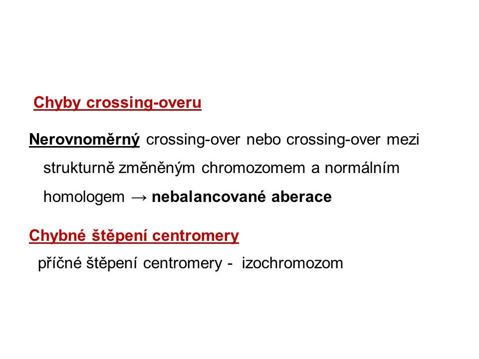 Chyby crossing-overu