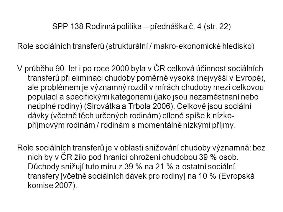 SPP 138 Rodinná politika – přednáška č. 4 (str. 22)