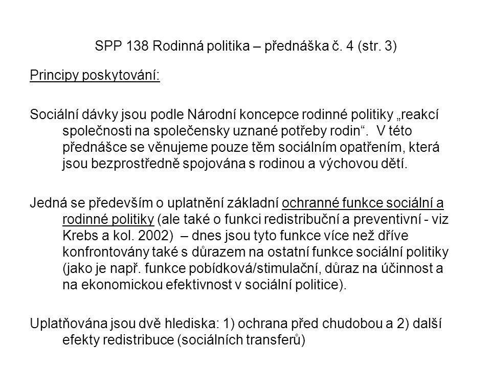 SPP 138 Rodinná politika – přednáška č. 4 (str. 3)