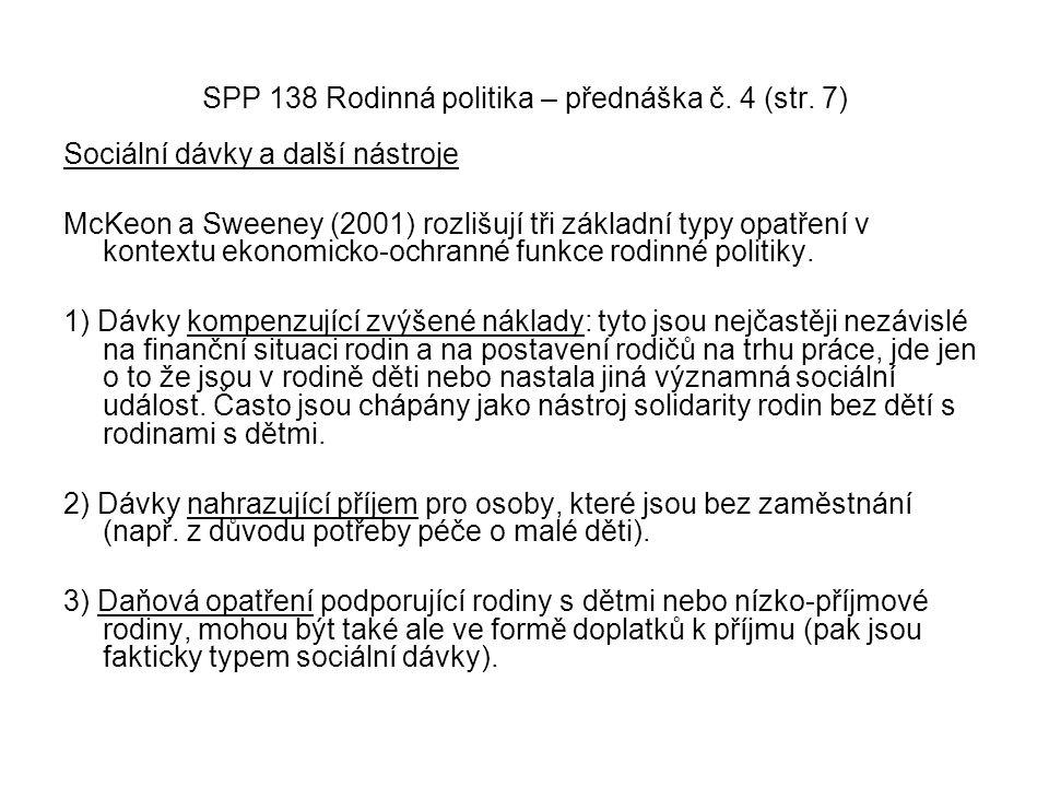 SPP 138 Rodinná politika – přednáška č. 4 (str. 7)