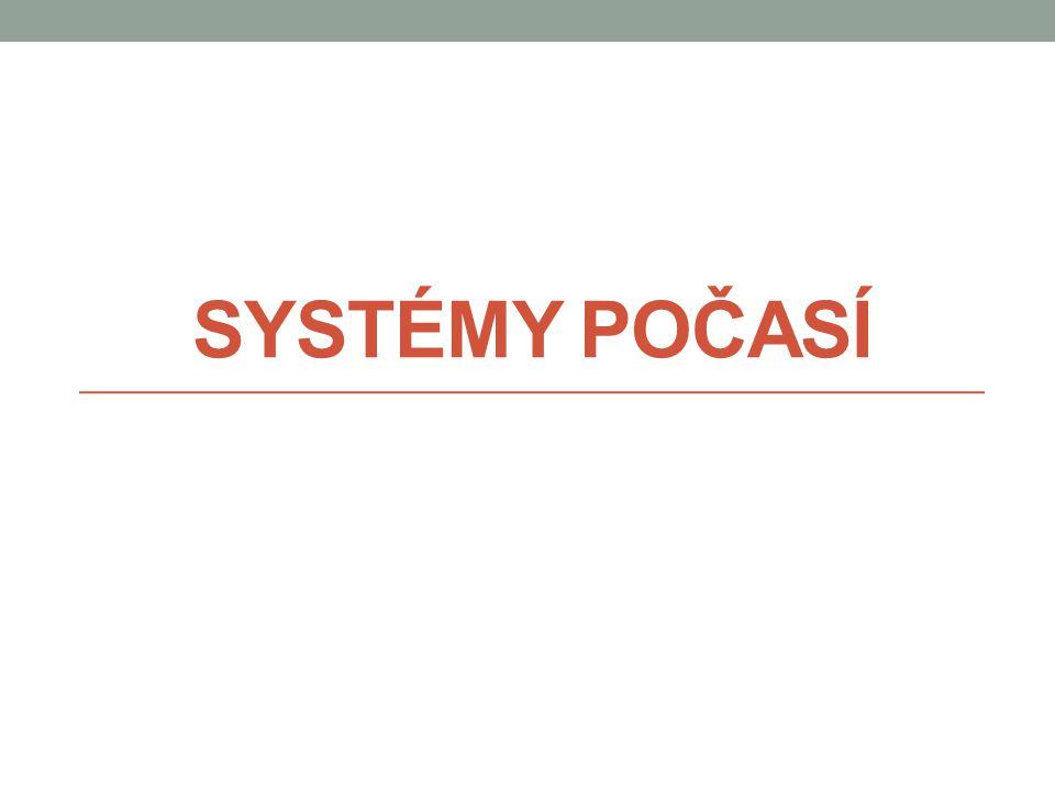 Systémy počasí