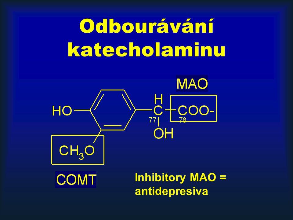 Odbourávání katecholaminu
