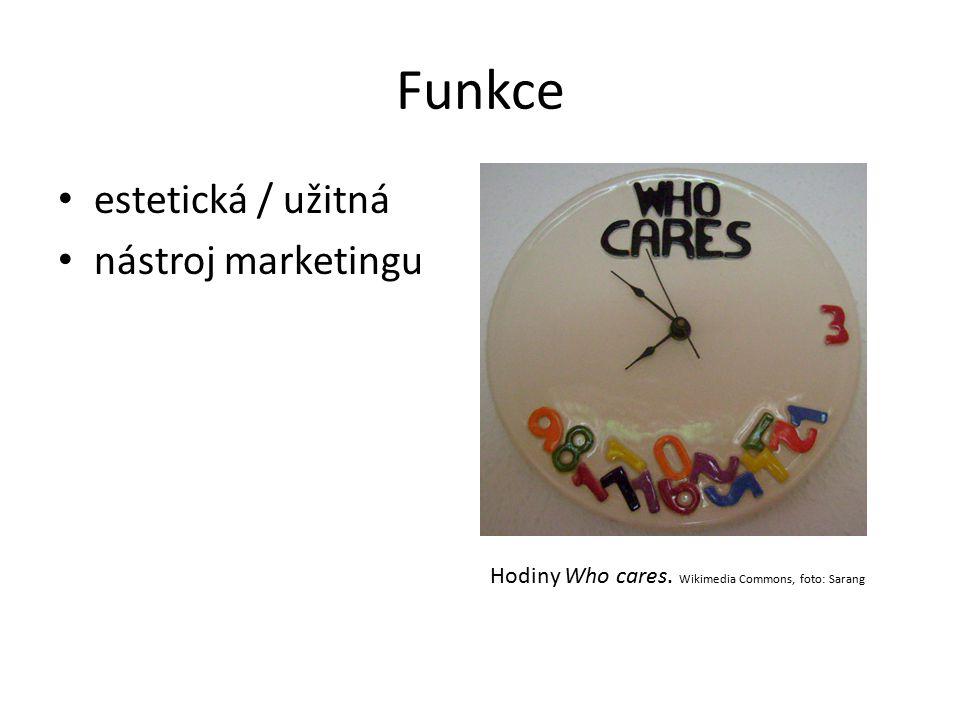 Funkce estetická / užitná nástroj marketingu
