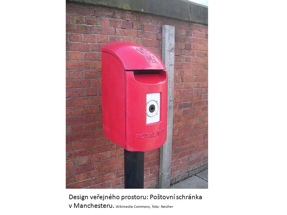 Design veřejného prostoru: Poštovní schránka v Manchesteru