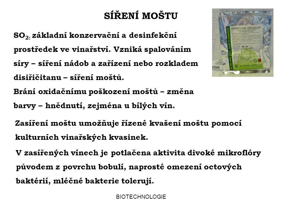 SÍŘENÍ MOŠTU
