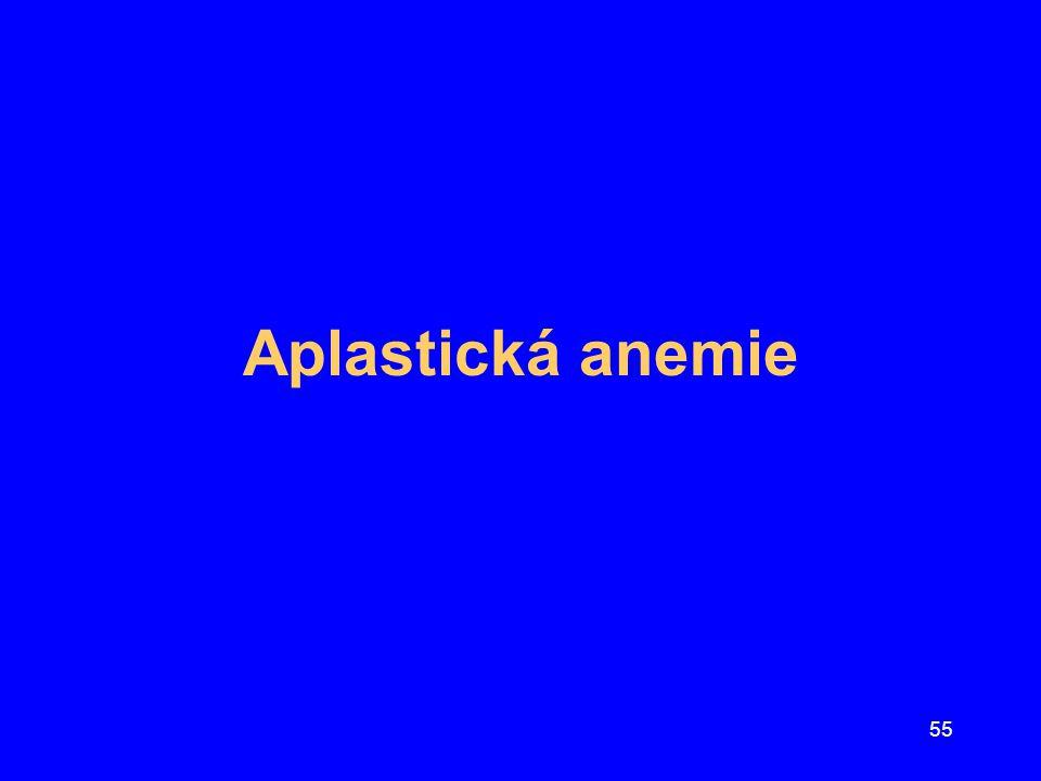 Aplastická anemie