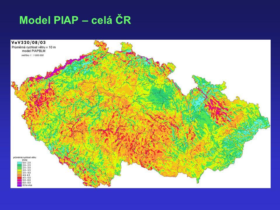 Model PIAP – celá ČR