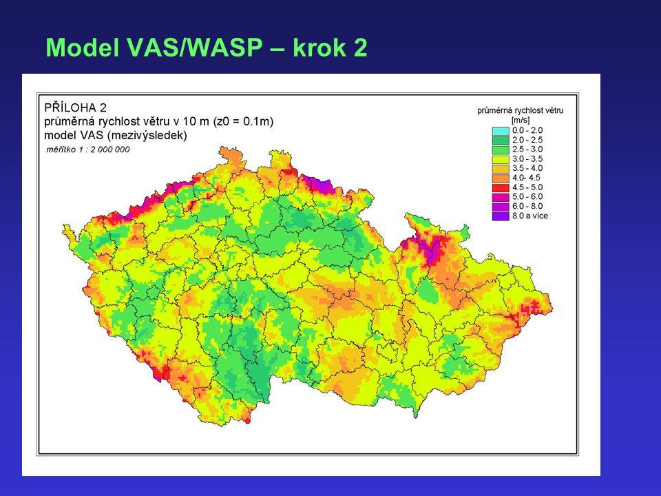 Model VAS/WASP – krok 2