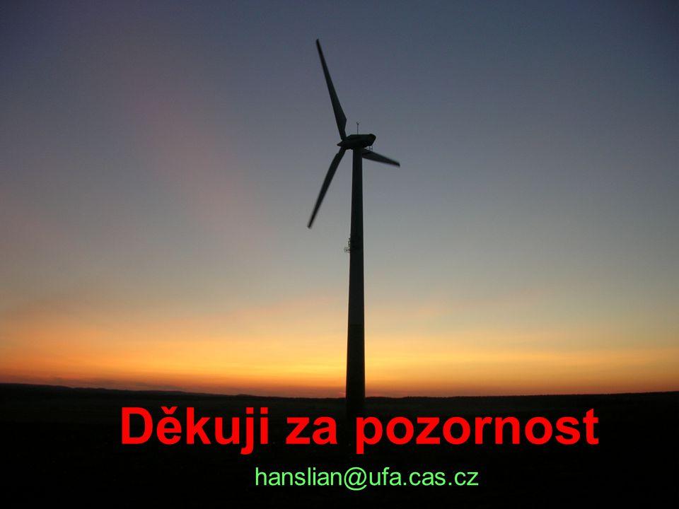Děkuji za pozornost hanslian@ufa.cas.cz