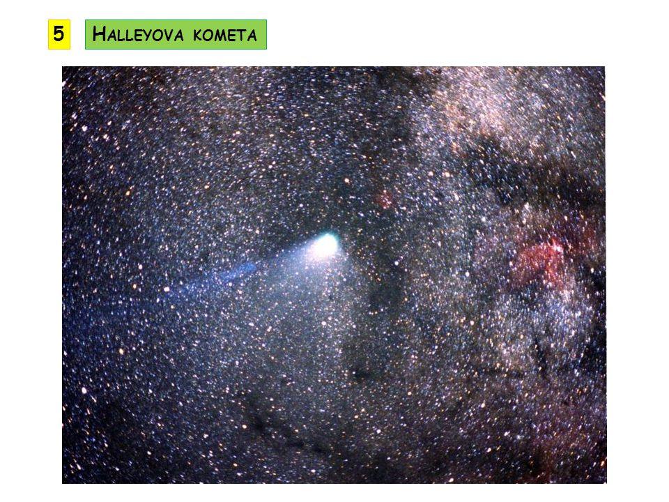 5 Halleyova kometa