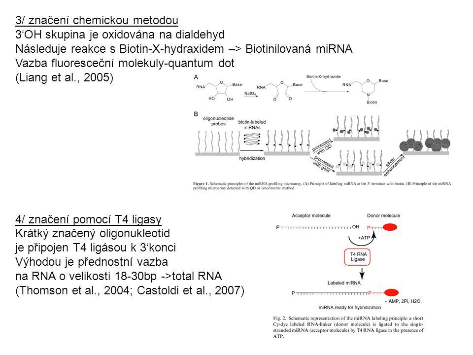3/ značení chemickou metodou