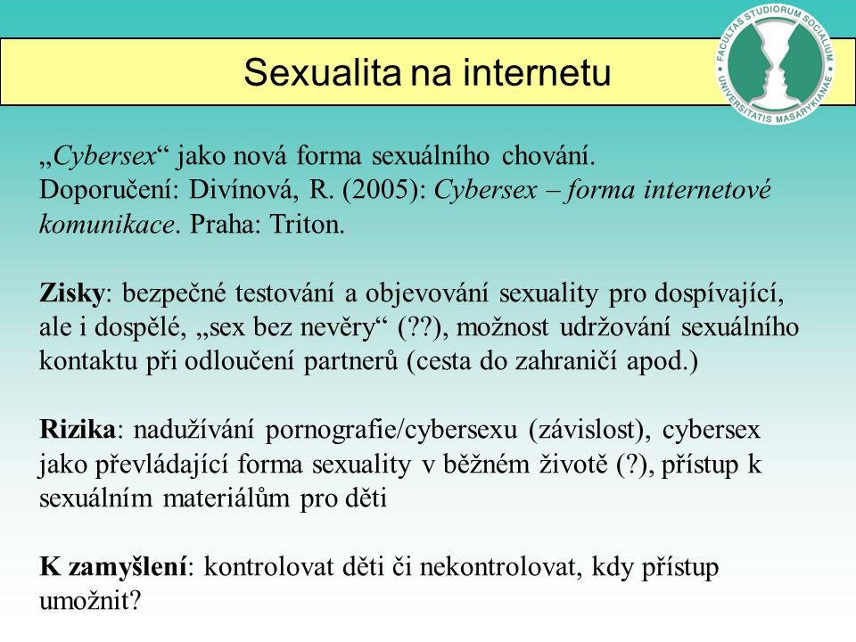 Sexualita na internetu