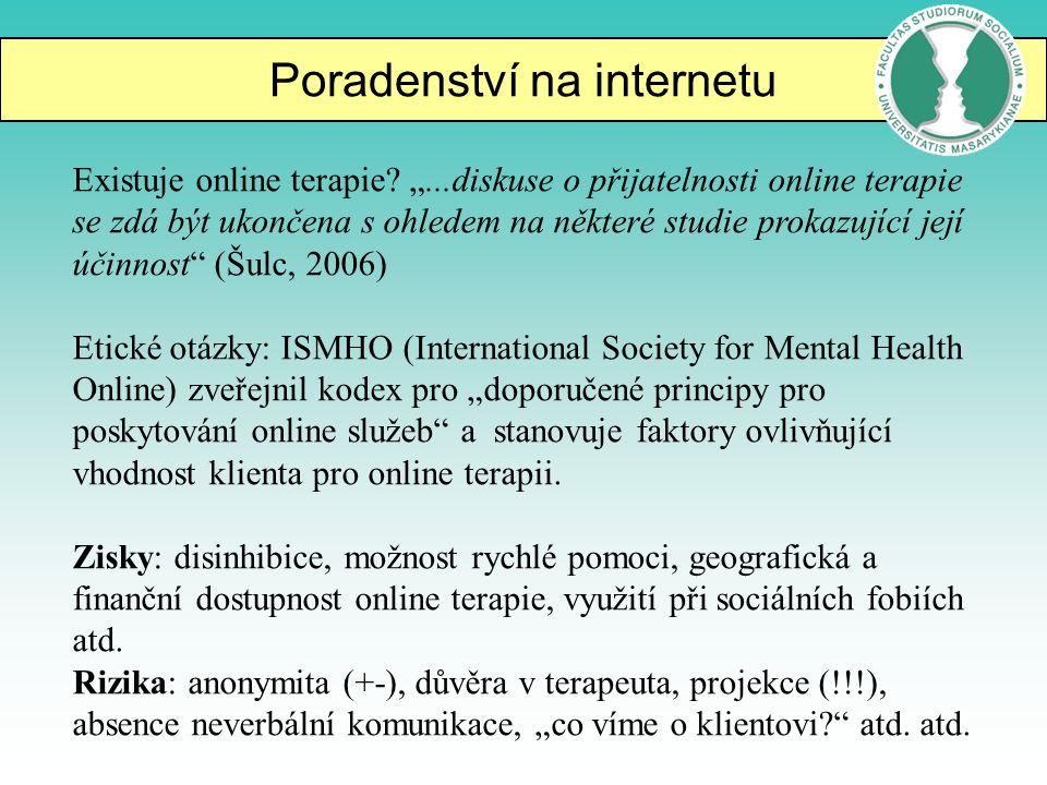 Poradenství na internetu