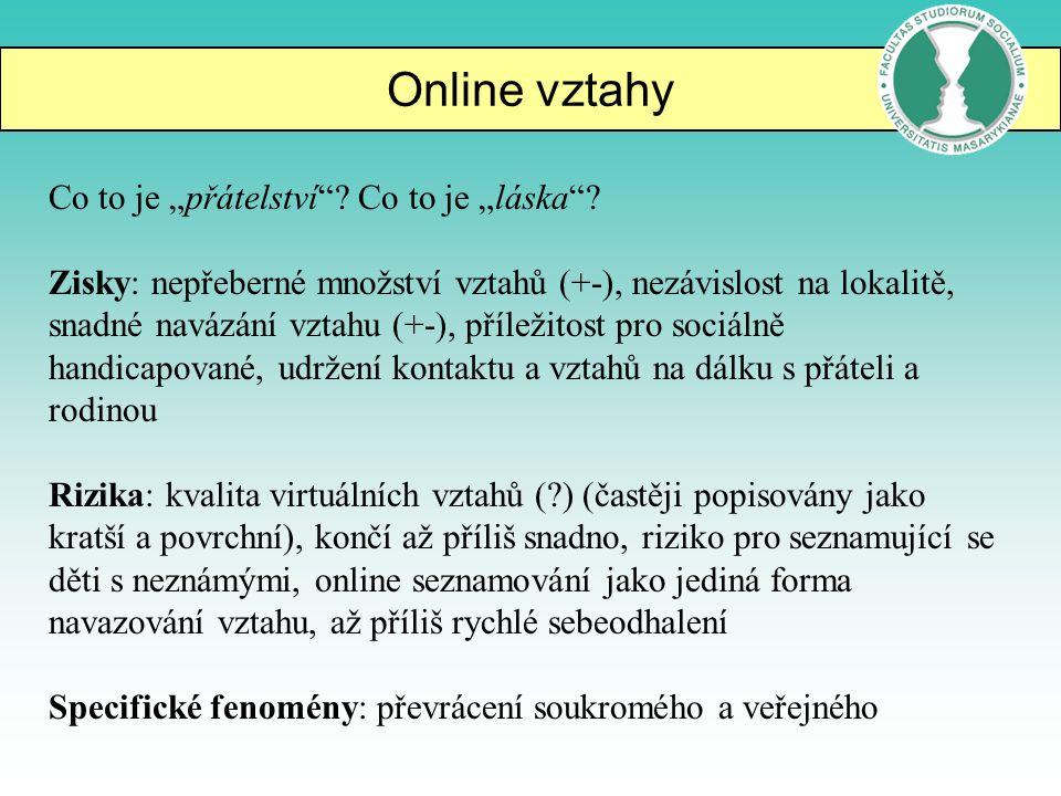Online vztahy