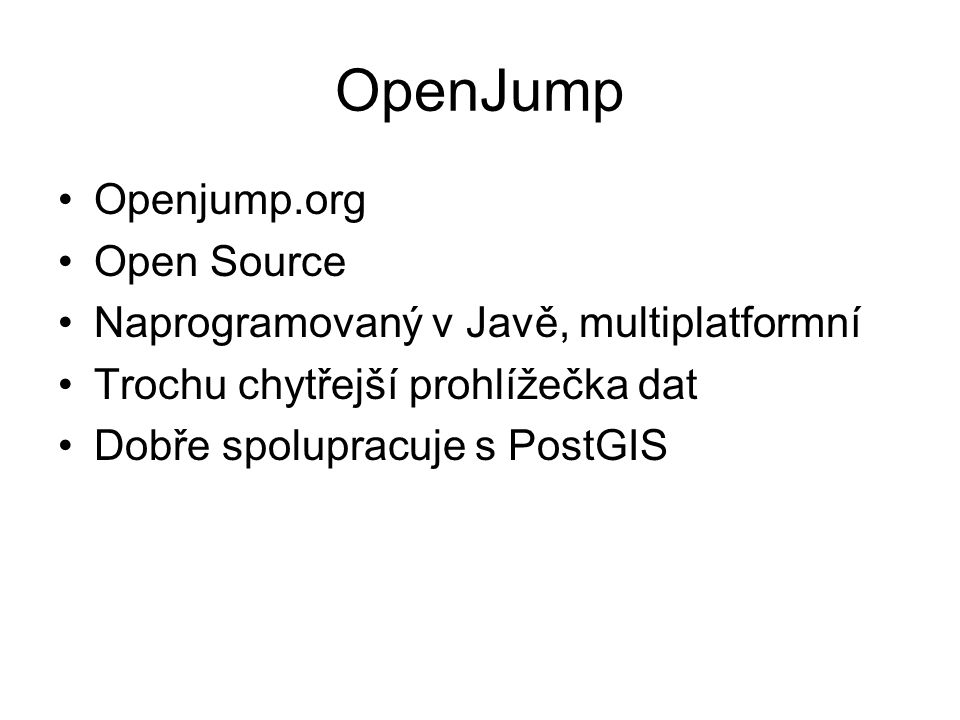 OpenJump Openjump.org Open Source