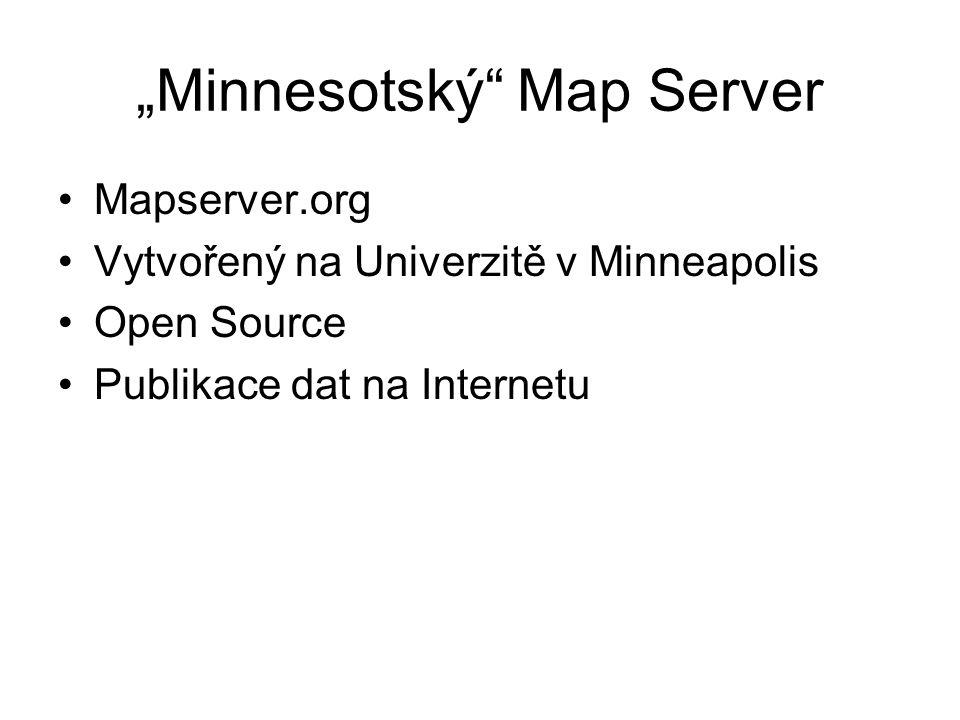 """""""Minnesotský Map Server"""