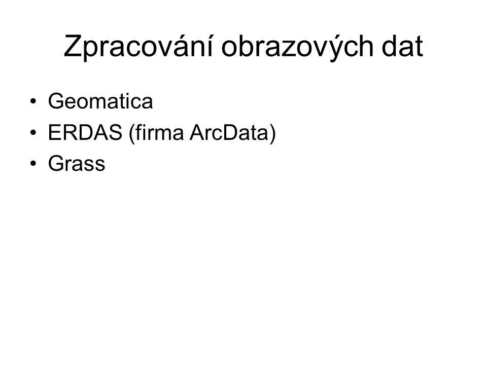 Zpracování obrazových dat