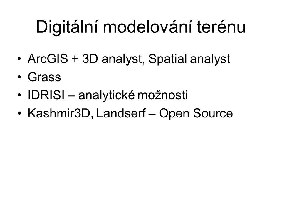 Digitální modelování terénu