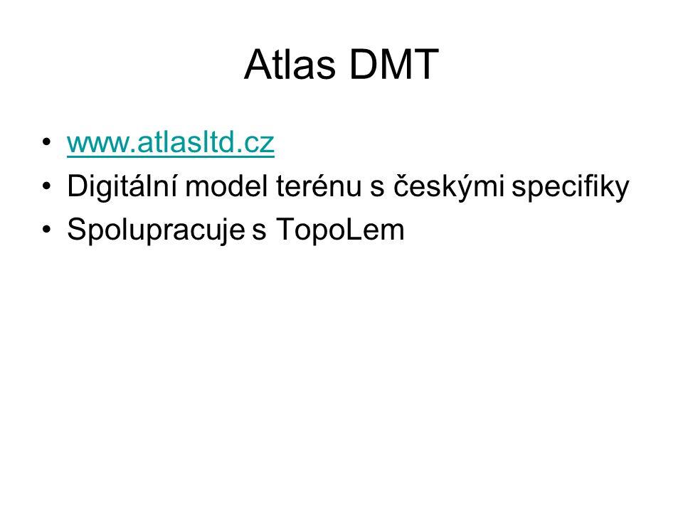 Atlas DMT www.atlasltd.cz Digitální model terénu s českými specifiky