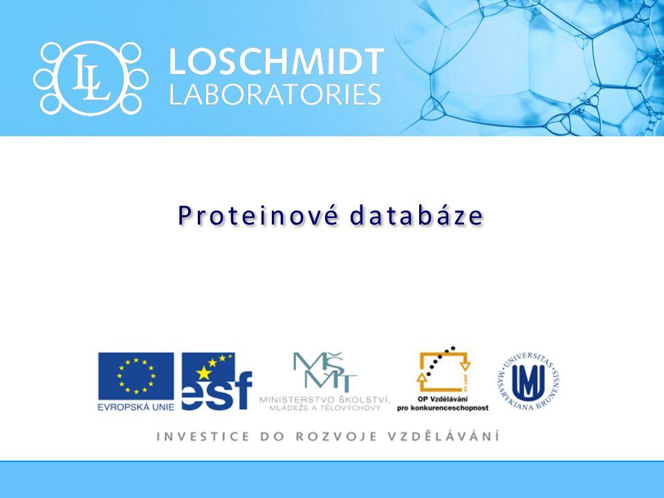 Proteinové databáze