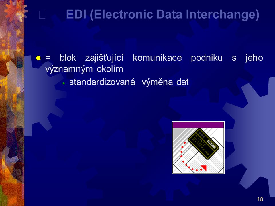 ¨ EDI (Electronic Data Interchange)