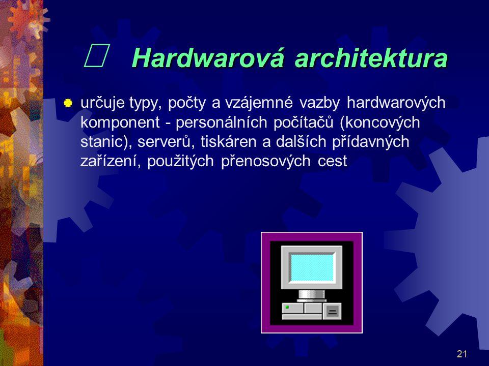 ¨ Hardwarová architektura
