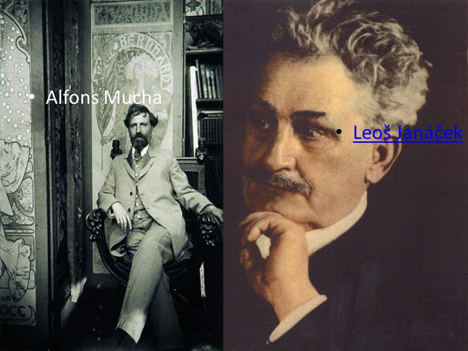 Alfons Mucha Leoš Janáček