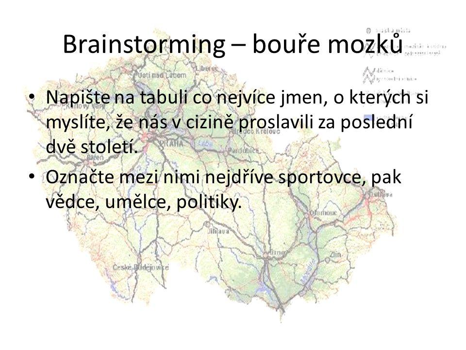 Brainstorming – bouře mozků
