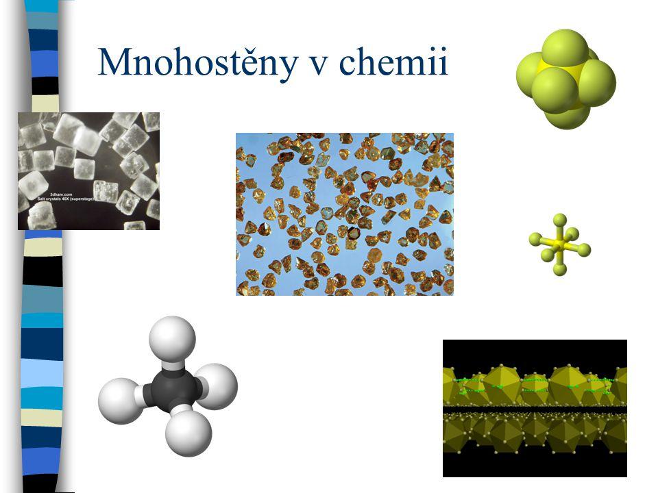 Mnohostěny v chemii