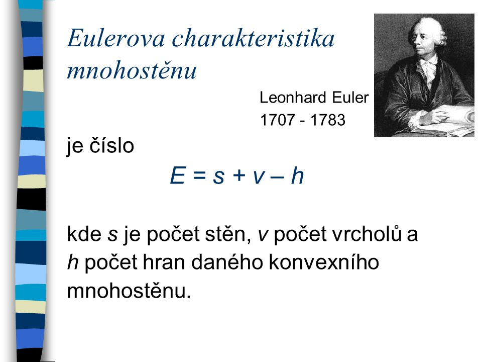 Eulerova charakteristika mnohostěnu