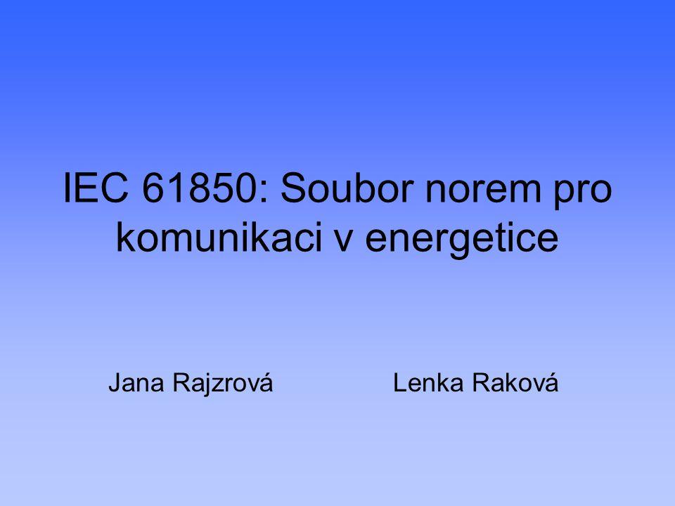 IEC 61850: Soubor norem pro komunikaci v energetice