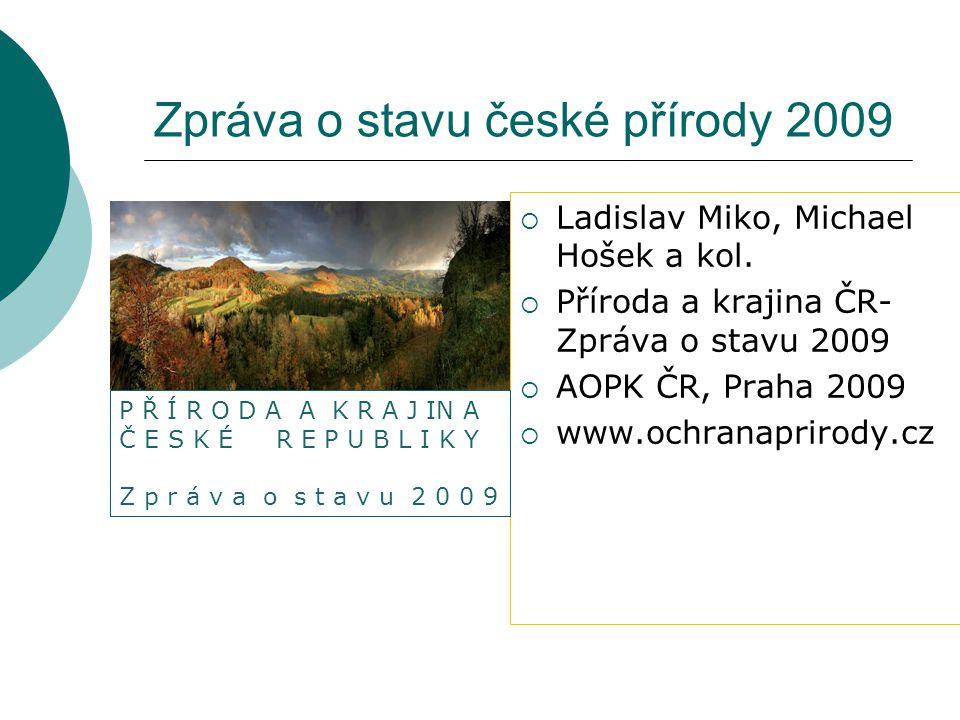 Zpráva o stavu české přírody 2009