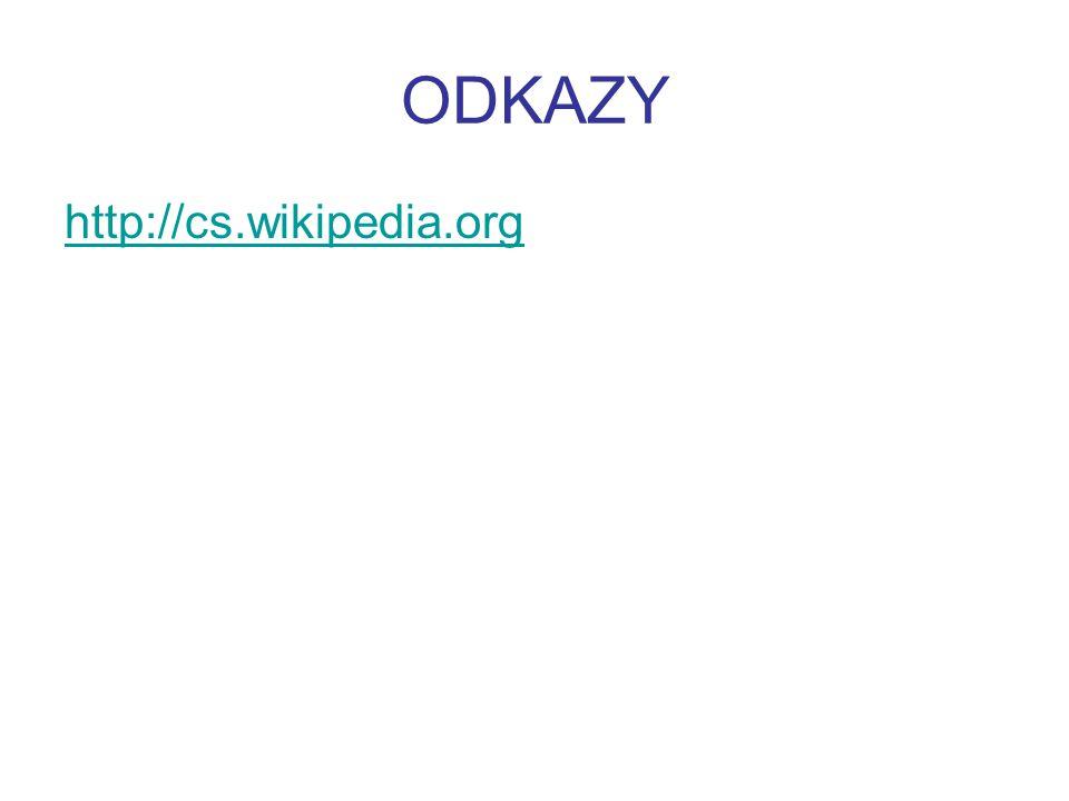 ODKAZY http://cs.wikipedia.org