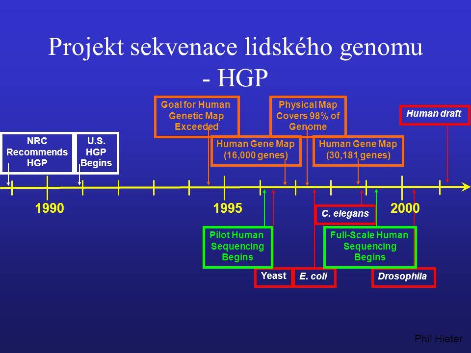 Projekt sekvenace lidského genomu - HGP