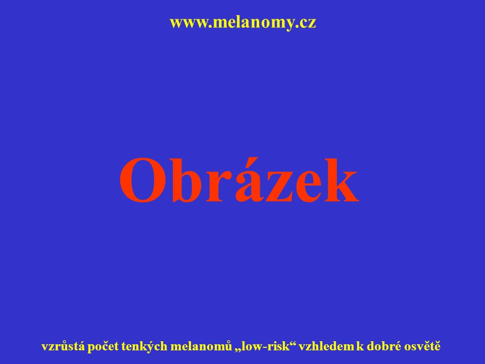 Obrázek www.melanomy.cz