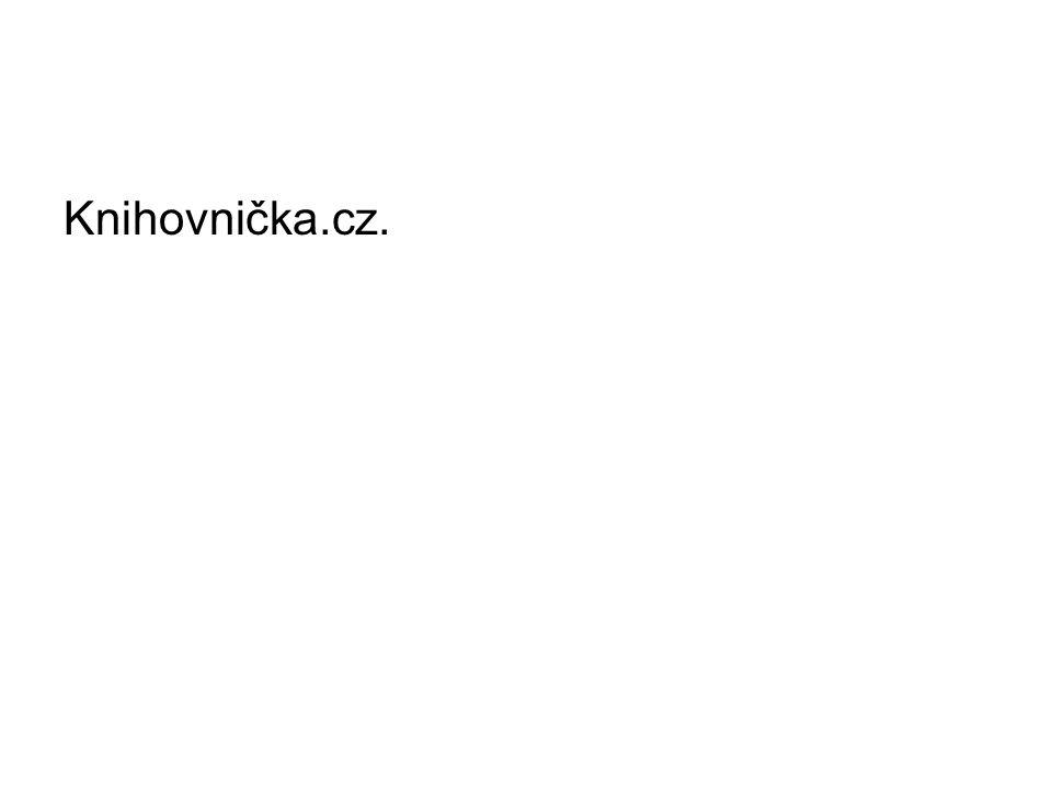 Knihovnička.cz.