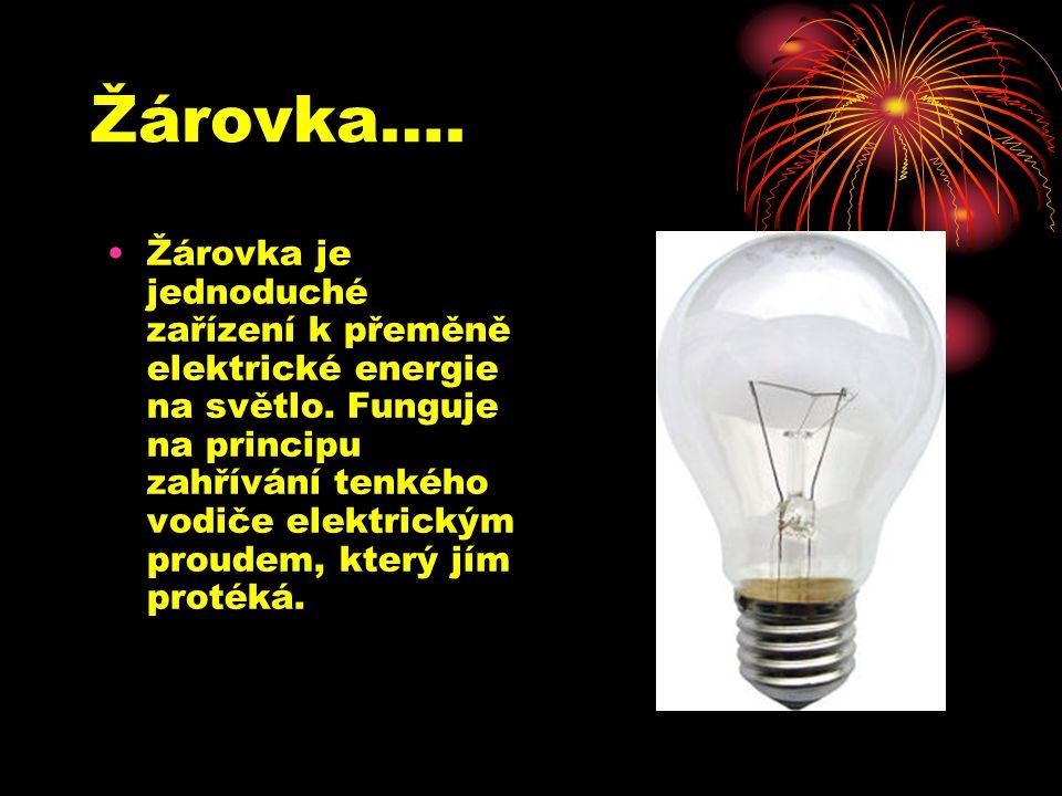 Žárovka….