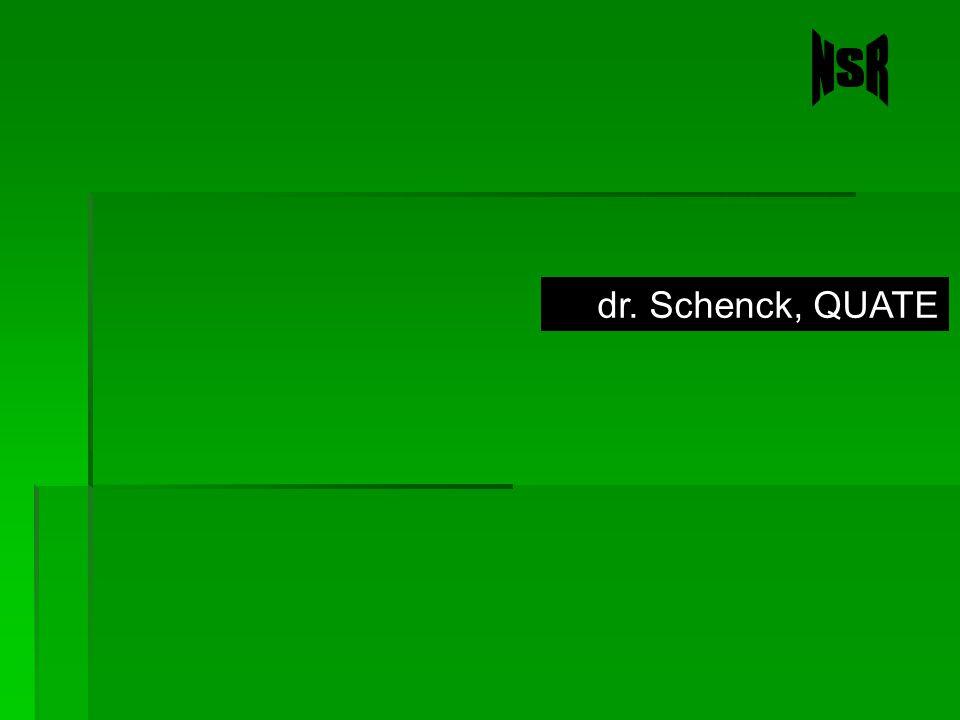 NSR dr. Schenck, QUATE