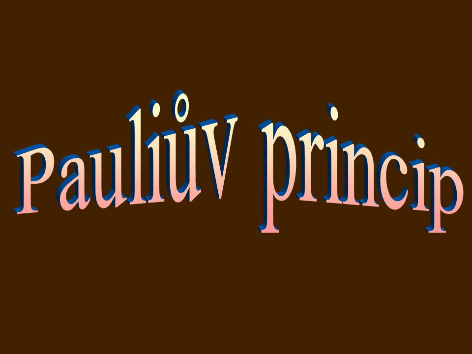 Pauliův princip