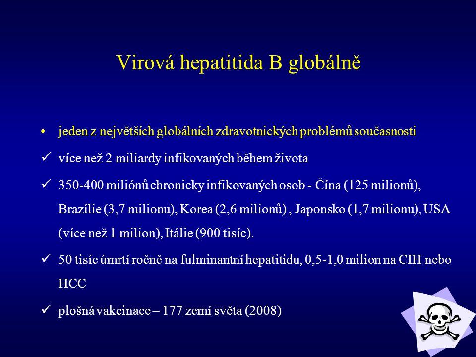 Virová hepatitida B globálně